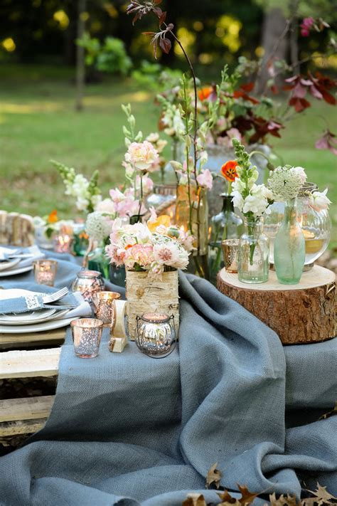 Rustic Garden Picnic Wedding {Nikki Meyer Photography}