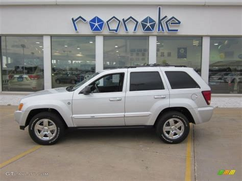 silver jeep grand cherokee 2007 2007 bright silver metallic jeep grand cherokee limited