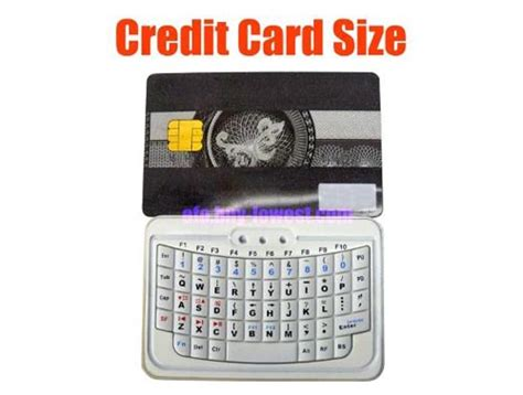 Credit Card Sized by Credit Card Sized Efo Mini Wireless Bluetooth Keyboard