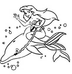 Dolphin And Mermaid Coloring Pages dolphin coloring pages for az coloring pages