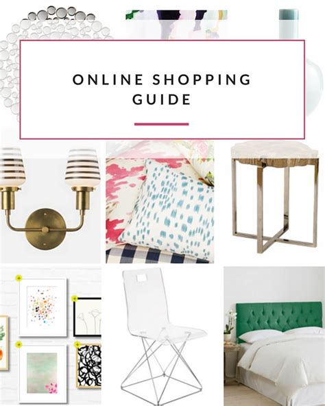 shopping home decor online online shopping guide for home decor
