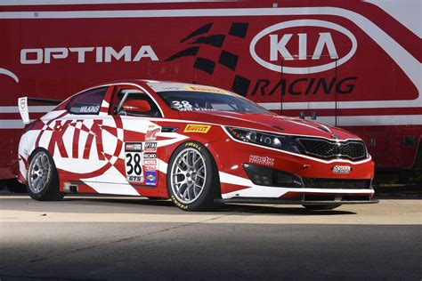 Kia Optima Racing Sema Pirelli World Challenge Kia Optima Race Car Is A