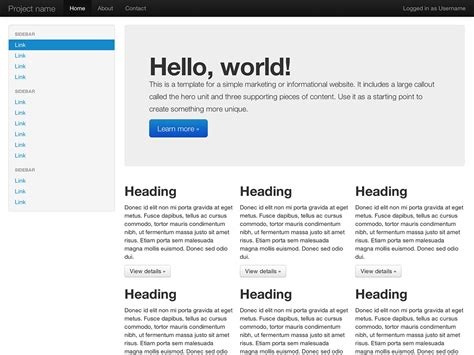 download layout bootstrap free getting 183 bootstrap