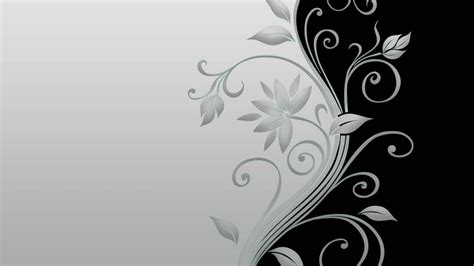 wallpaper vector black and white vector flower black and white hd wallpaper of vector