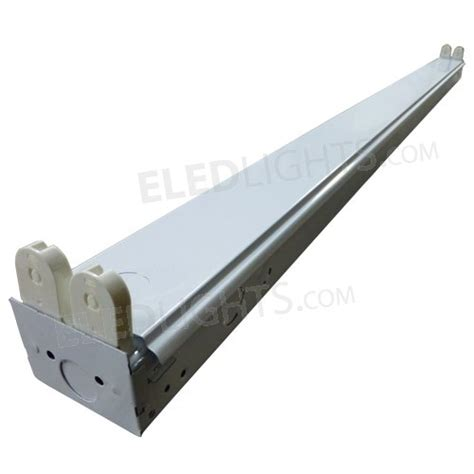 4 light fixtures 4ft led fixture holds two 4ft led eledlights