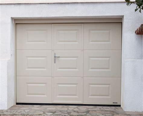 porte de garage sectionnelle la toulousaine gamme villa la toulousaine portes de garage