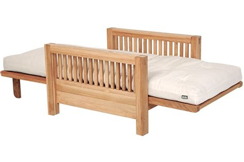 Futon Company Sofa Bed Single Seater Oak Wood Sofa Bed Futon Company