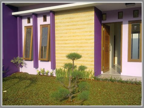 curan cat untuk membuat warna ungu ungu yang anggun untuk fasade rumah anda