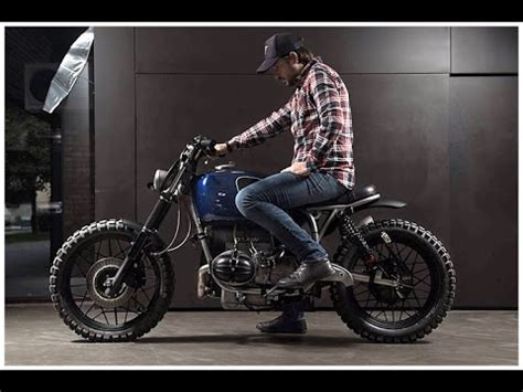 custom bmw  scrambler  er motorcycles youtube