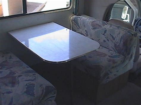 rv table bed rv table bed the dinette table folds down for another