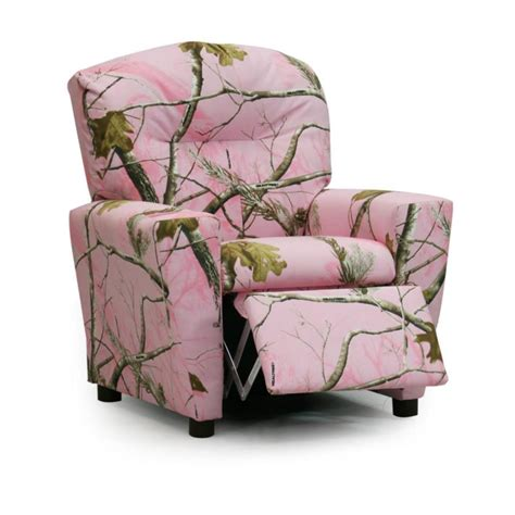Pink Camo Recliner by Realtree Camo Furniture Realtree Pink Recliner Camo