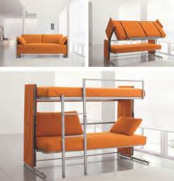 Bunk Beds Sofa A Cool Sofa That Converts Into A Bunk Bed Enpundit