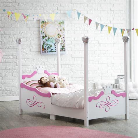 Toddler Princess Beds by Kidkraft Princess Toddler Bed Silver 86945 Toddler