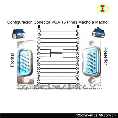 factory supply d sub connector wiring diagram vga