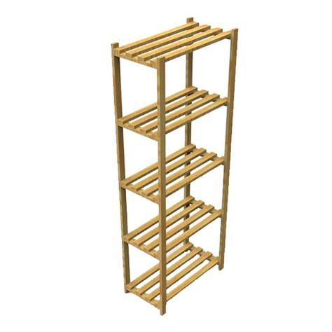 estante spaceo estante multiuso madeira 170x60x32cm spaceo leroy merlin