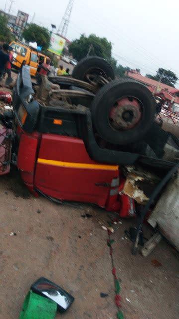 Topi Trucker Fail 4 terrible at ugwu nwasike ogidi anambra photos