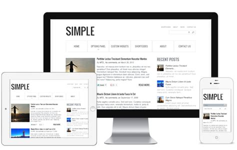 simple blog wordpress theme mythemeshop