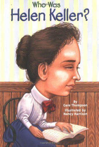 biography helen keller english at age two helen keller became deaf and blind she lived