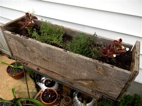 happily after garden salvage free garden planter