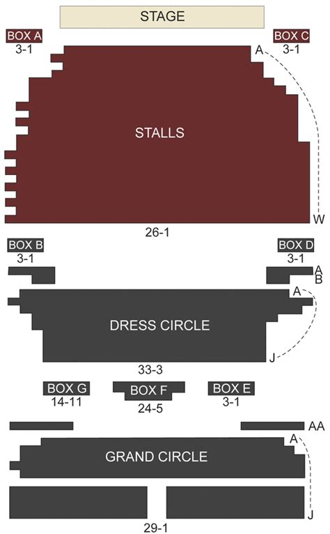 best seats gielgud theatre gielgud theatre seating chart and stage