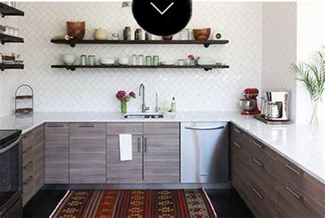 el antes  el despues una cocina sin armarios superiores