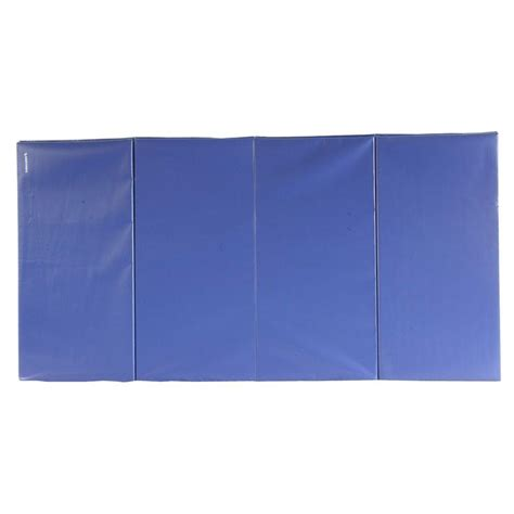 greatmats folding blue 4 ft x 8 ft x 1 5 in 18 oz
