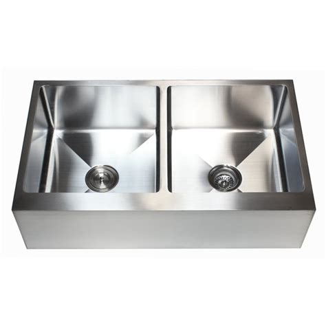 36 Inch Kitchen Sink 36 Inch Stainless Steel Flat Front Farm Apron 50 50