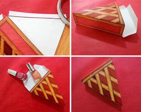 How To Make A Paper Pie - how to make paper pie boxes for thanksgiving template