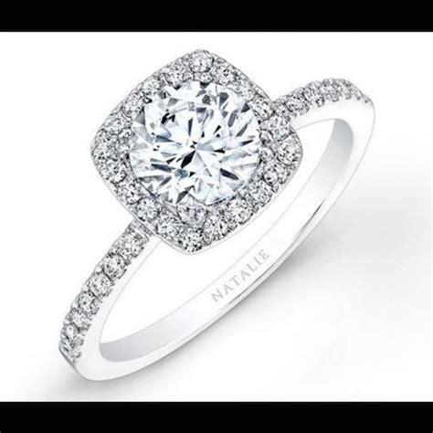 cadenas de oro blanco tiffany anillo de compromiso mod tiffany en oro blanco de 14k