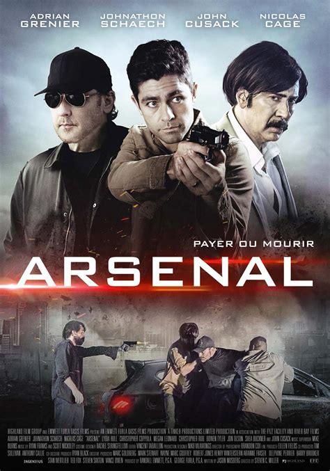 arsenal movie arsenal film 2017 allocin 233