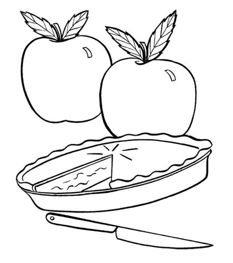 coloring pages of apple pie 17 best images about fall coloring pages on pinterest