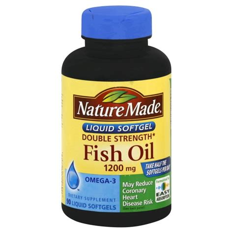 R E A D Y Nature Made Fish nature made fish strength 1200 mg premium softgels