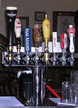 What Kind Of Beers Do You Have On Tap The World By Road On Tap Bar