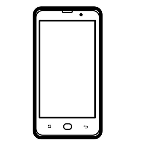 clip mobile phone clipart android mobile pencil and in color phone