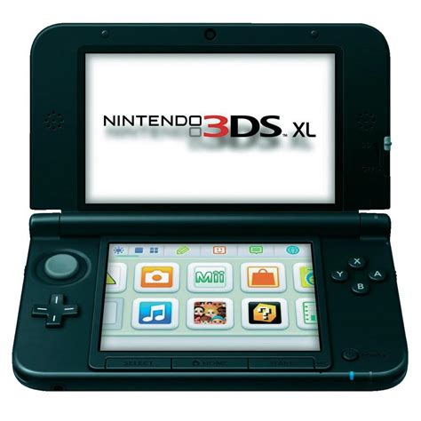 nintendo 3ds xl console nintendo 3ds xl console silver black from conrad