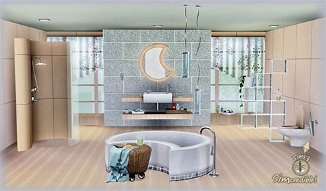sims 3 bathroom ideas my sims 3 blog moonglow bathroom by simcredible designs