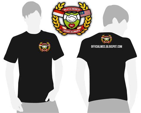 Tshirt Kaos Betawi malaysia indonesia sahabat selamanya