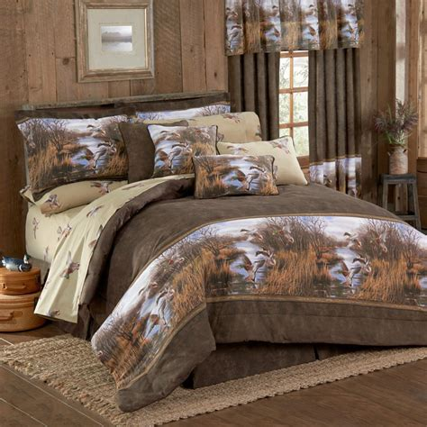 duck approach wildlife bedding comforter set twin full