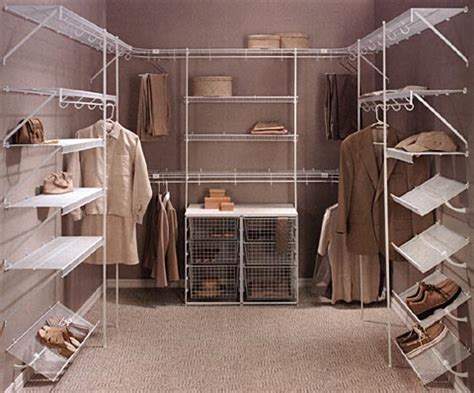 Walk In Closet Shelving Walk In Closet Wire Shelving Options By Rubbermaid The