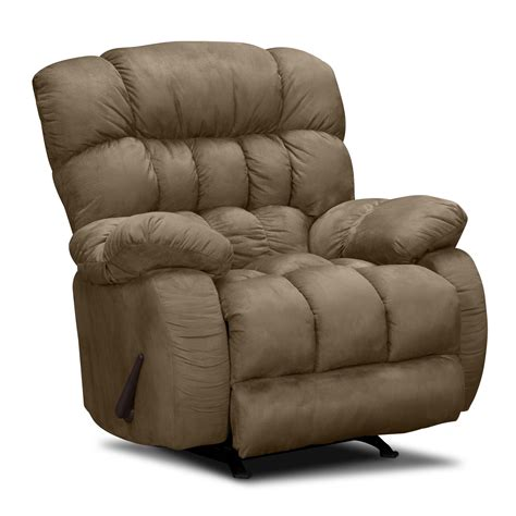 recliners com sonic rocker recliner value city furniture