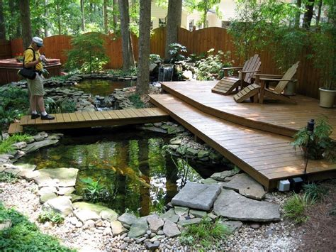 how to make pond in backyard beautiful small pond design to complete your home garden