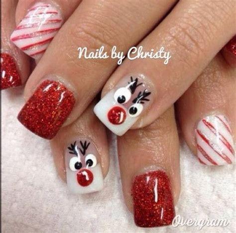 christmas pattern nail st 70 festive christmas nail art ideas for creative juice
