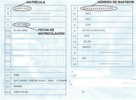 de circulacion no oficial tarjeta de circulacion no oficial licencia itv veiasa