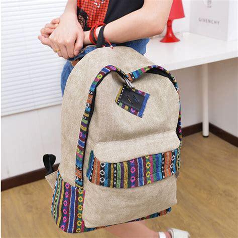 tas ransel wanita canvas korea gray jakartanotebook