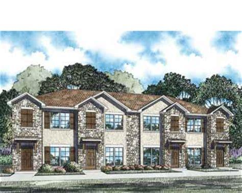 fourplex house plans stylish fourplex hwbdo75040 traditional house plan from builderhouseplans com