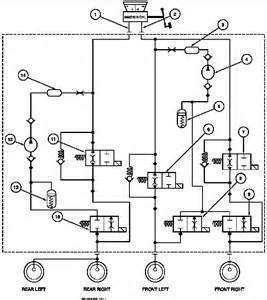 Abs Brake System Schematic Abs Bleed Procedure Taurus Car Club Of America Ford