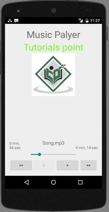 tutorial android music player android mediaplayer tutorial