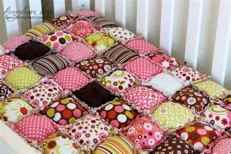 Rag Puff Quilt by How To Make A Rag Puff Quilt Pattern Pdf File Puff Quilt