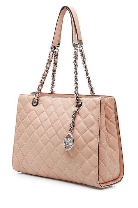 Quilted Purse by Michael Michael Kors Susannah Large Quilted Leather Tote