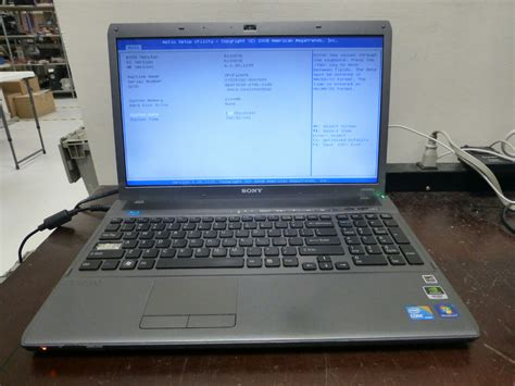 Laptop I7 Ram 6gb sony vaio vpcf126fm laptop intel i7 q740 1 73ghz 6gb ram no hdd no os ebay